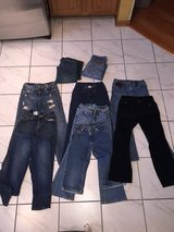 Girls Size 8 Jeans, 3 Pairs Sz 10 in Joliet, Illinois