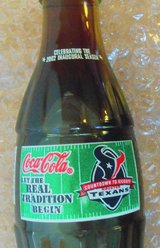 2002 Houston Texans Inaugural Season Coca-Cola Classic 8oz. Bottle Unopen in Kingwood, Texas
