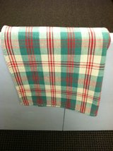 RED/GREEN/TAUPE TABLECLOTHS (2) in Westmont, Illinois