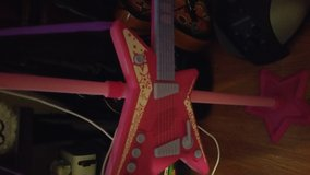Rocking Girl Guitar & Stage Microphone Set in Houston, Texas