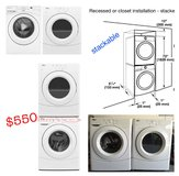 WHIRLPOOL front-load washer and dryer, laundry pair in Tyndall AFB, Florida