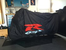 GSXR motorcycle cover in Spangdahlem, Germany
