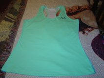 Fila womens size Large light blue mesh tank top very neat in Fort Riley, Kansas
