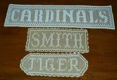 Name Doilies in Fort Knox, Kentucky