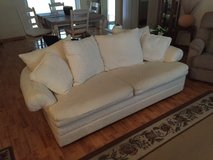 Couch (White) with Queen sleeper sofa in Naperville, Illinois