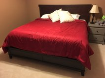 Beautiful King Bed Frame in Minneapolis, Minnesota