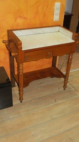 French marble wash stand/Dresser in Ramstein, Germany