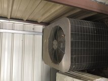 A C unit with heat pump in Cleveland, Texas