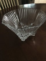 Antique class crystal bowl from France in Naperville, Illinois