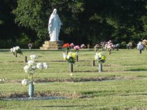 Two adjacent burial plots in Tyndall AFB, Florida