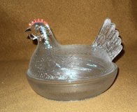 Vintage Glass Chicken Candy Dish in Alamogordo, New Mexico