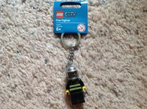 LEGO Fire Fighter Keychain in Camp Lejeune, North Carolina