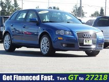 2007 Audi A3 2.0T 6 speed, leather,roof in Fort Lewis, Washington