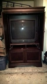 "Entertainment Center with 36"" TV in Little Rock, Arkansas"