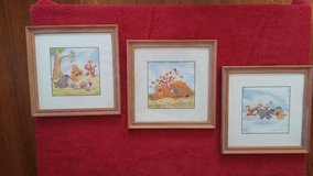 Winnie the Pooh pictures (set of 3) in Dickson, Tennessee