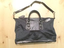 Grey Coach Purse, big in Ramstein, Germany