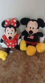 huge mickey and minnie in Alamogordo, New Mexico