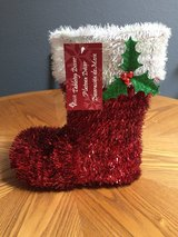 Santa's Boot Tabletop Decor in Alamogordo, New Mexico