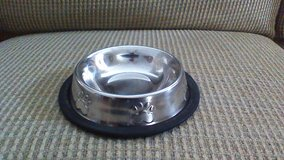 Small Metal Dog Bowl in Fort Campbell, Kentucky
