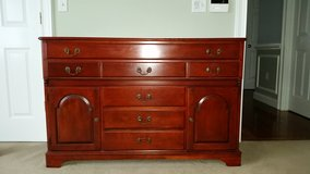 Display cabinet or tv stand Base and Hutch or TV Stand Buffet in Brockton, Massachusetts