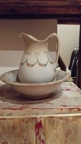 Vintage Wash Bowl and Pitcher in Ramstein, Germany