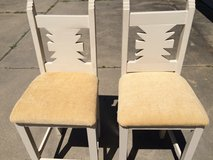 Solid Wood Bar Stools (set of 2) in Baytown, Texas
