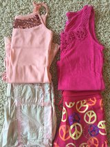 Justice Shorts/Tank Outfits-Size 10 in Naperville, Illinois