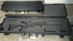 Plano Double Scoped Rifle Case w/Wheels in Fairfield, California