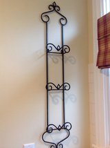 Wrought Iron 3-Plate Rack with Bronze Finish in Chicago, Illinois