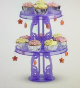 """NEW"" American ""Girl Size"" Party Cupcake / Cake stands with Charms in Naperville, Illinois"
