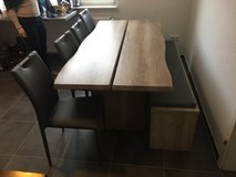 Brand new family dinner table and chairs for sale in Ramstein, Germany