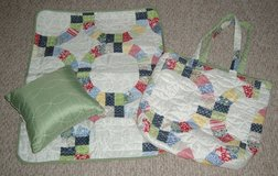 ONLY $2 Baby Bag Quilted Shabby Chic with Matching Pillow and Matt in Morris, Illinois