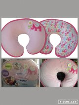 Boppy Bare Naked Pillow with Luxe Slipcover - pink in Fort Irwin, California