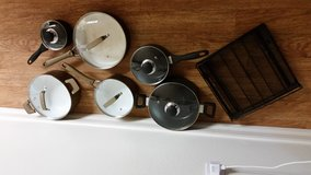 Pots and pans in San Clemente, California