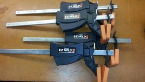 E-Z Hold 10 inch Bar & Spreader Clamps - 4 Each in Houston, Texas