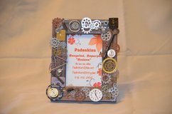 Steampunk 4x6 Tabletop Picture Frame in Warner Robins, Georgia