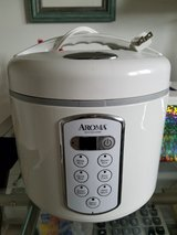 Aroma 20 Cup Cooked (10 cup uncooked) Digital Rice Cooker, Slow Cooker, Food Steamer in Naperville, Illinois