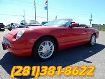 2003 Ford Thunderbird / Red / V8 / Automatic in Baytown, Texas