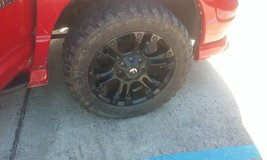 4 tires and rims for sale. 20's, will trade for good 4 wheeler. in Fort Polk, Louisiana