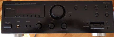 JVC RX-518V Audio Video Control Receiver in Fort Leonard Wood, Missouri