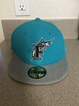 MARLINS NEW ERA BASEBALL CAP 7 3/8 in 29 Palms, California