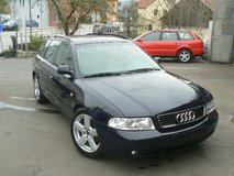 AUDI A4 Restyling Station wagon-/ new service and inspection in Hohenfels, Germany