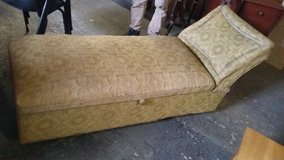 old. chaise lounge with storage in Lakenheath, UK