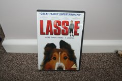 Lassie DVD in Lakenheath, UK