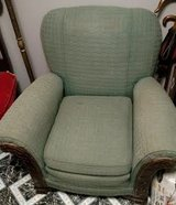 Antique chair - green - reduced in Warner Robins, Georgia