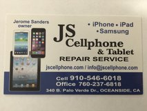 JS Cellphone & Tablet Repair in Oceanside, California