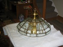 Brass light fixture in DeKalb, Illinois