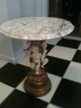 Cherub Accent Italian Marble Table in Joliet, Illinois