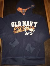 Boys Navy Blue Old Navy Zip Hoodie Jacket Sz Medium 8 in Clarksville, Tennessee