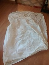 Plastic fitted sheet for full size mattress in Alamogordo, New Mexico